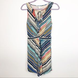 Anthropologie Jenny Han Silk Striped Dress